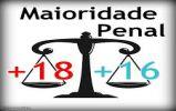 Datafolha: 84% se dizem a favor da redução da maioridade penal